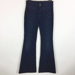7 For all Mankind Jeans 31 High Waist Wide Leg